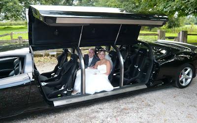 Ferrari luxury limousine