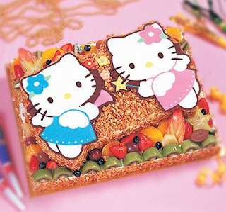 You might think twice to eat this cute desert