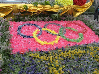 landscape with Olympic logo