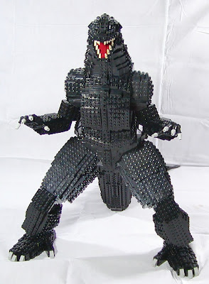 lego fan make a godzilla