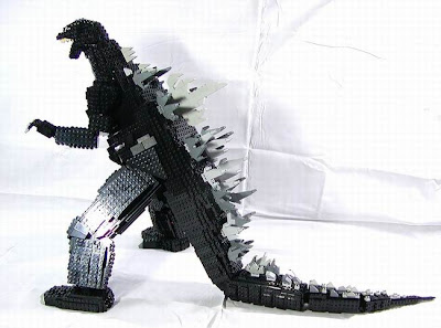 action japanese movie the godzilla in lego mode