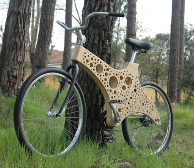 bicycle that can change body