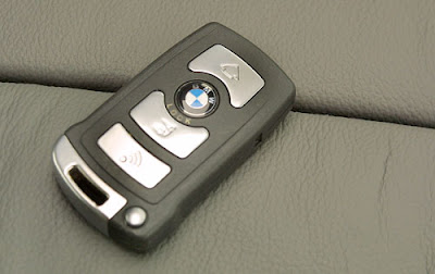 BMW car keys system with high security option
