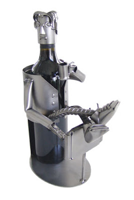 robotic look like bottle holder