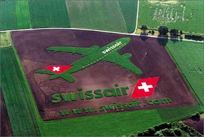 crop circle advertisment phenomenon