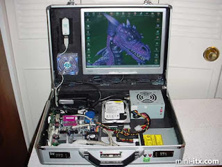briefcase computer. Now you can easily bring your desktop anywhere, anytime