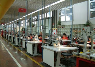 looking inside factory of ferrari