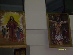 Via Crucis 1.  Jesús es condenado a muerte.