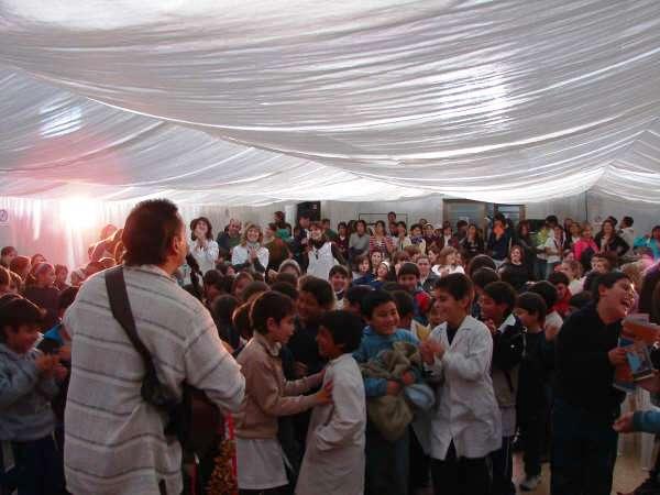 FERIA DEL LIBRO RAMALLO   2008