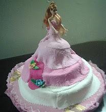 Torta de Barbie