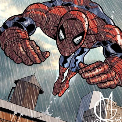 Spider-Man by Giuseppe Matteoni