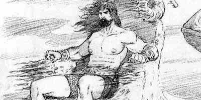 Fumetti: Poseidon by Federico Distefano