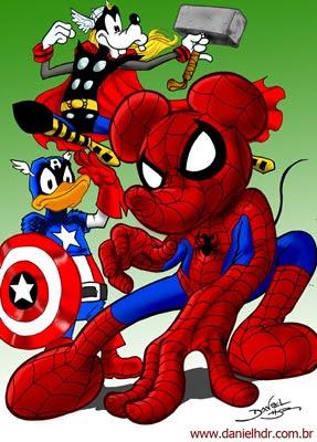 Fumetti: gli Avengers in versione Disney