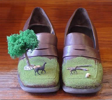 The Landscape Shoe