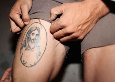 Female Jesus Tattoos
