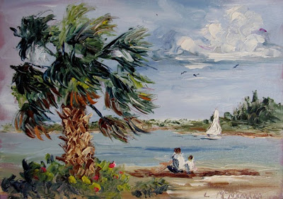 Daily painters of florida june 2010 for Nice acrylic paintings