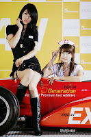 Lee Ji Woo and Hwang Mi Hee
