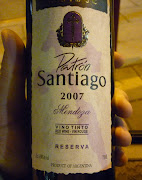 Patrón Santiago, Malbec blend 2007, great red from maipu Mendoza