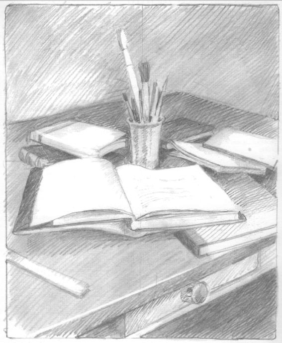 Dibujo art stico 1 2011 12 carmen laff n ejercicio 27 for Mesas de dibujo artistico