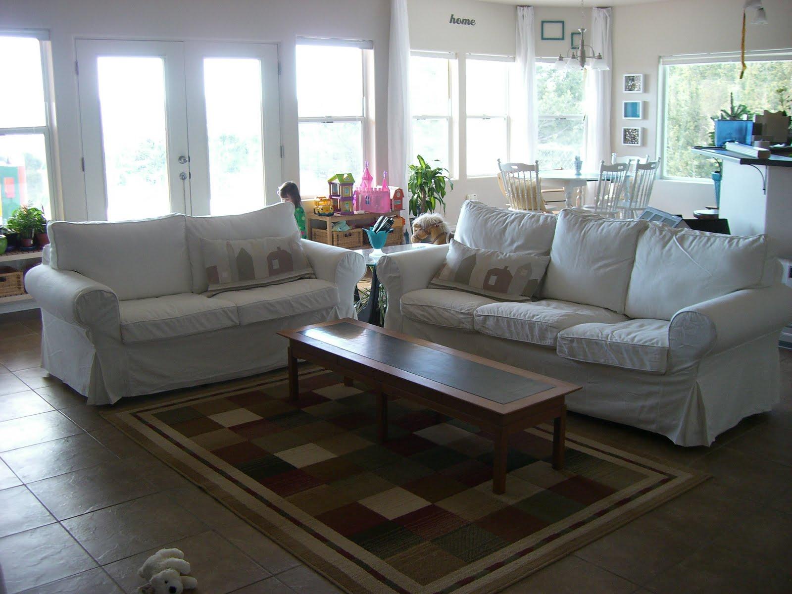 ikea ektorp sofas for living room ooo ahhh | the new living