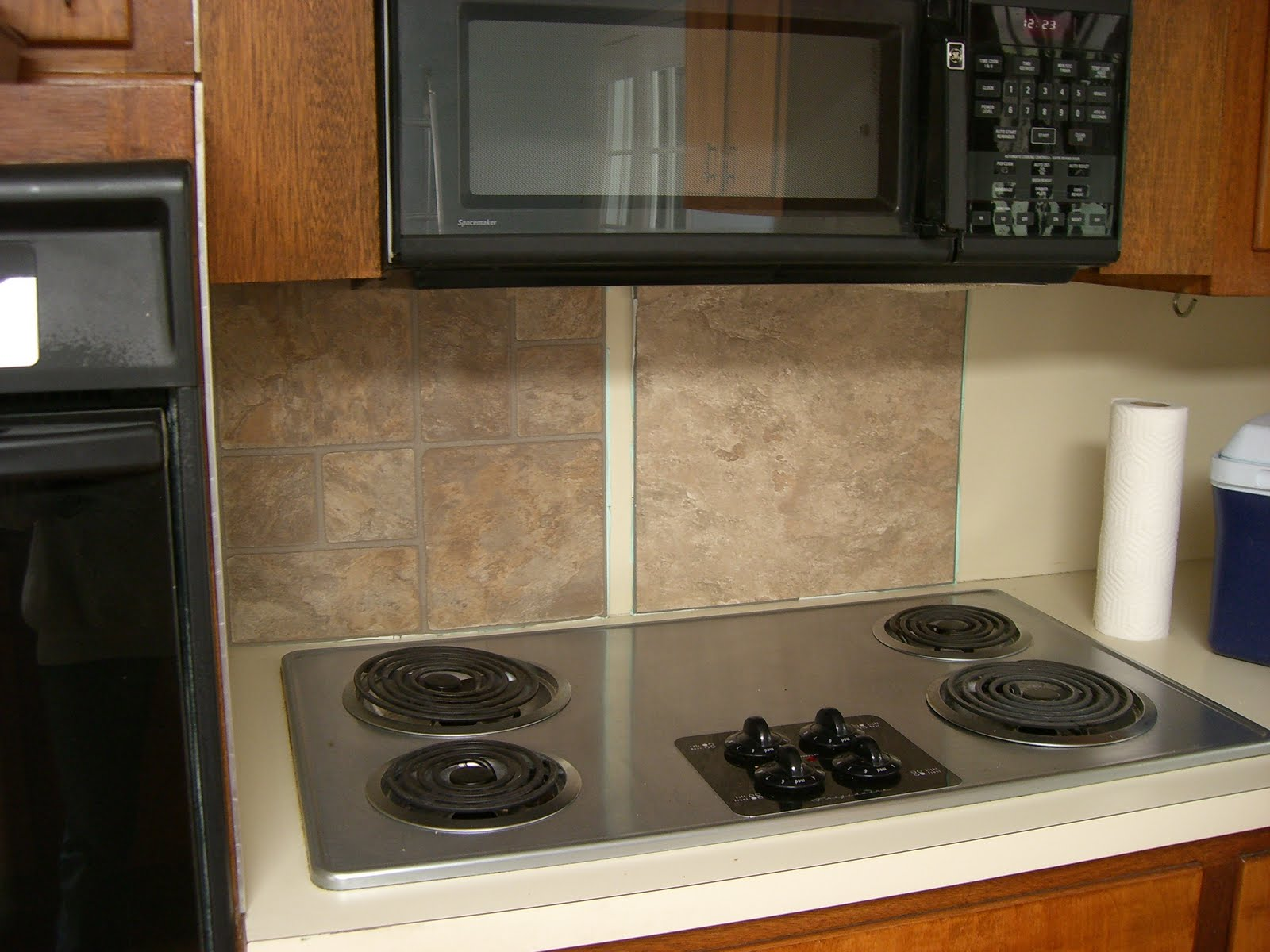 Wonderful Cheap Backsplash Ideas For Kitchen Part - 10: Easy Install Kitchen Backsplash Ideas