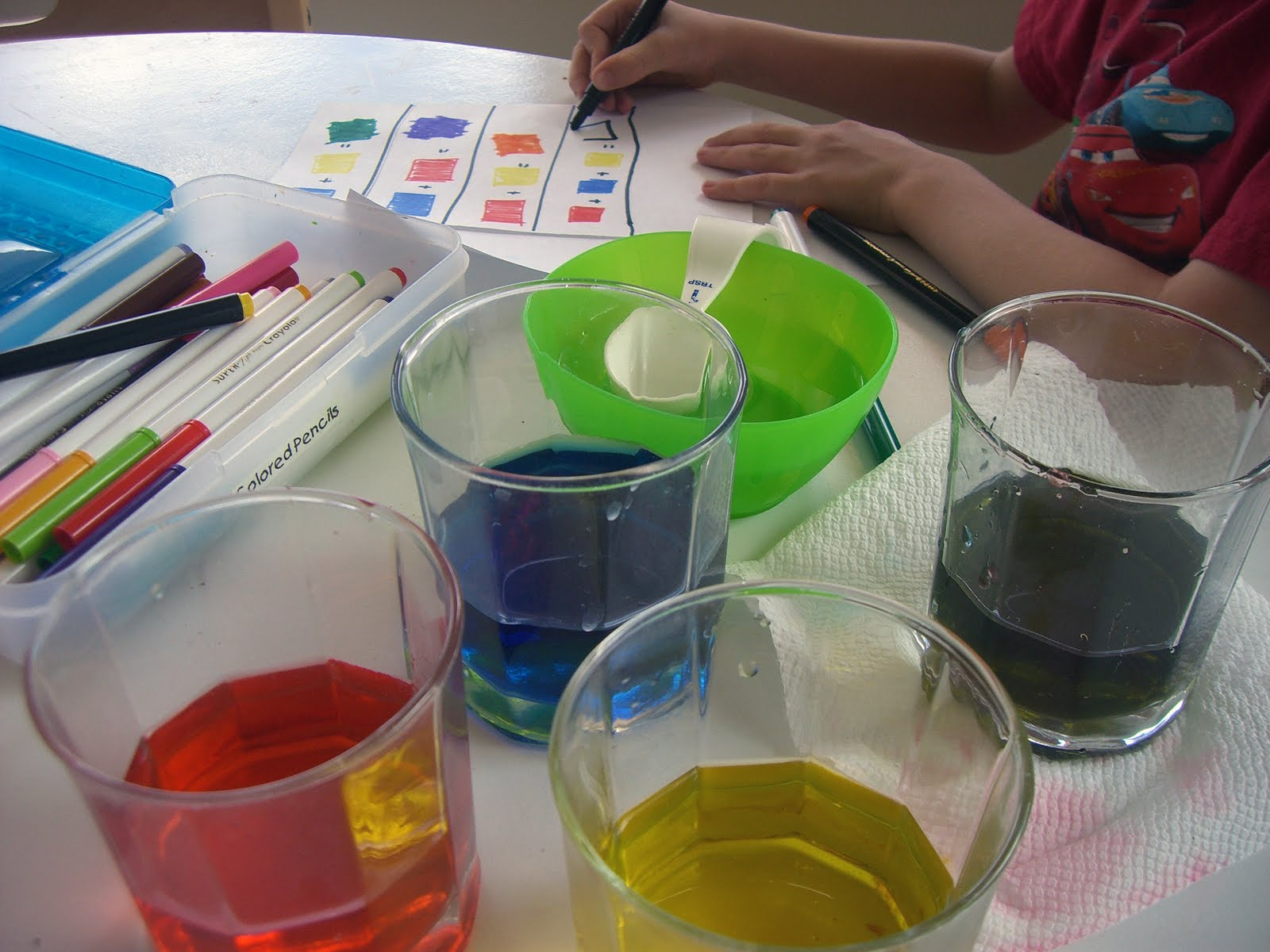 Home. Kids. Life.: DIY Science @ Home - Color Mixing