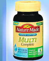 FREE sample of Nature Made vitamins