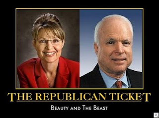 Republican ticket: Beauty and the Beast