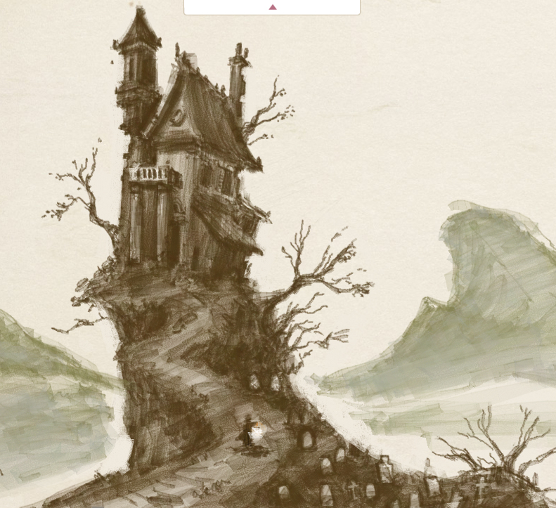 Will draw for fun haunted house Haunted house drawing ideas