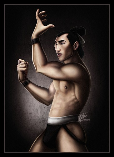General Shang: Mulan he was my favourite disney prince HAHA.