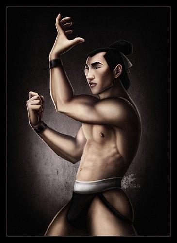 General Shang: Mulan he was my favourite disney prince HAHA.
