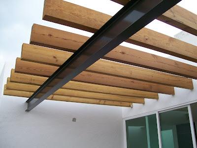 Muebles sobre dise o avl vigas - Vigas de madera para pergolas ...