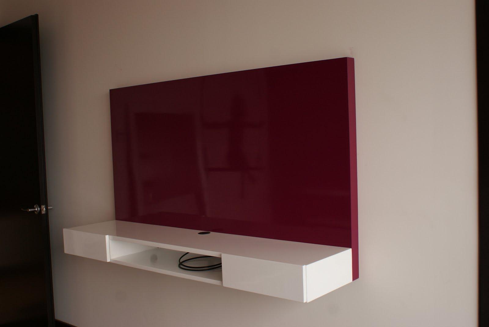 Muebles para colgar tv led - Muebles de television de diseno ...