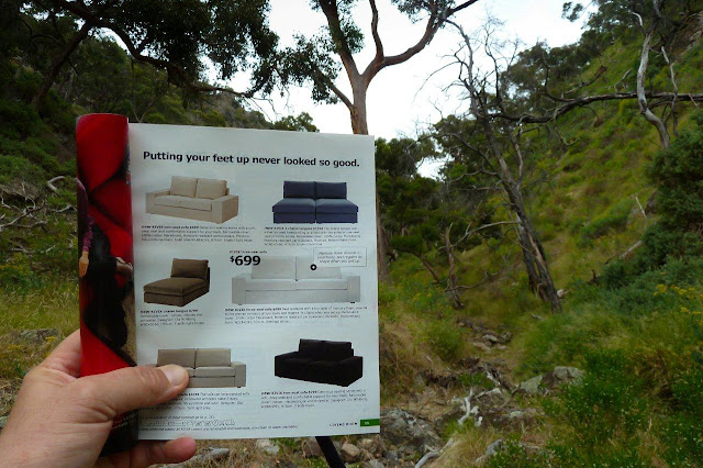 ikea kivik couch in ironbark gorge