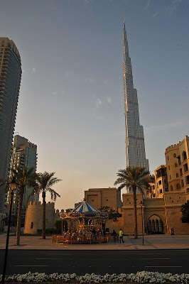 Burj Khalifa from the Top and its Best