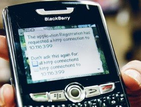 IT expert questions etisalat explanation on BlackBerry fault