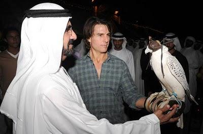 Tom Cruise charms Dubai