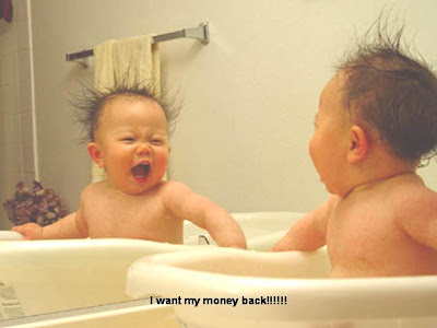 Funny Messages which gives Smile,Laughter Challenges: baby hair cut!!!