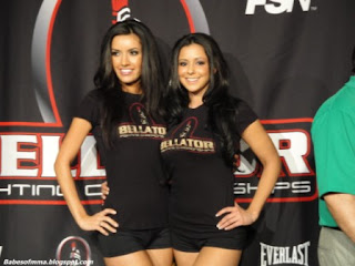 Babes Of MMA Bellator Babes In Chicago For Bellator XIV