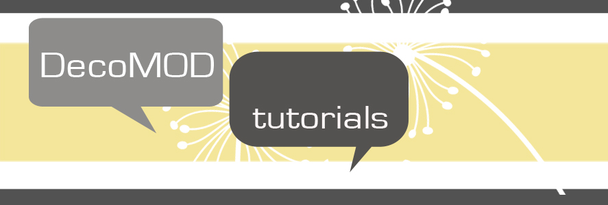DecoMOD Studio Tutorials