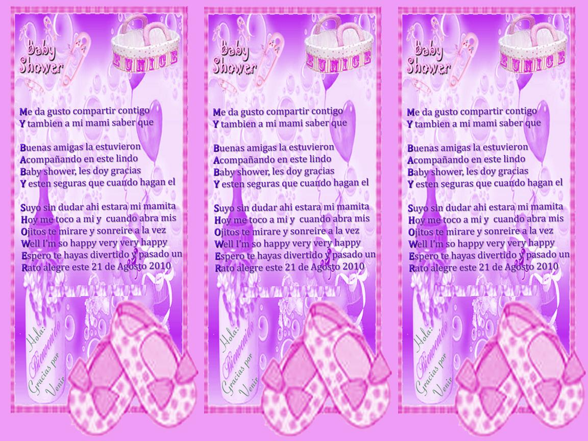 frases para invitaci nes de baby shower nina imagui quotes