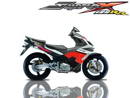 Honda Supra X 125RR, MotoGP Style Modification of Honda Supra X 125 title=