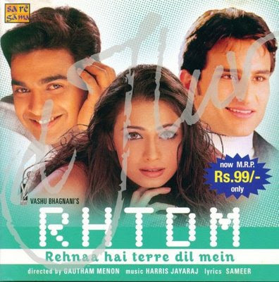 Rehna Hai Tere Dil Mein (2001) Hindi Movie Watch Online