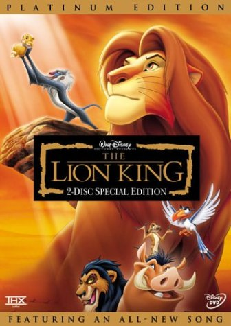 lion king DVD cover