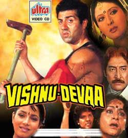 Vishnu Devaa (1991) SL YT - Sunny Deol, Aditya Pancholi, Neelam, Sangeeta Bijlani, Danny Denzongpa, Johnny Lever, Alok Nath, Veerendra Saxena, Sharat Saxena, Arun Bakshi
