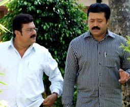 Bharathan (2007 - movie_langauge) - Suresh Gopi, Biju Menon, Geethu Mohandas, Jagathy Sreekumar, Innocent, Rajan P Dev, Sudhish, Jayakrishnan, Punnapra Appachan, Kalpana, Ponnamma Babu, Sreelath
