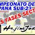 CAMPEONATO DE ESPAÑA SUB-23 2009. <br>Las Fases Sector.<br>RESULTADOS.