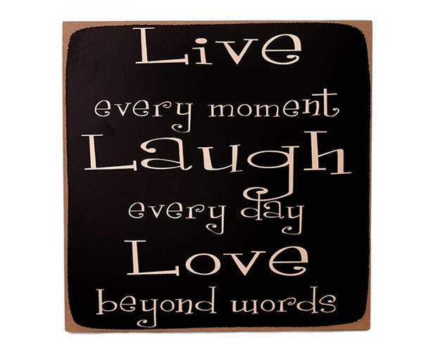 I Like Quotes My Motto Live Laugh Love