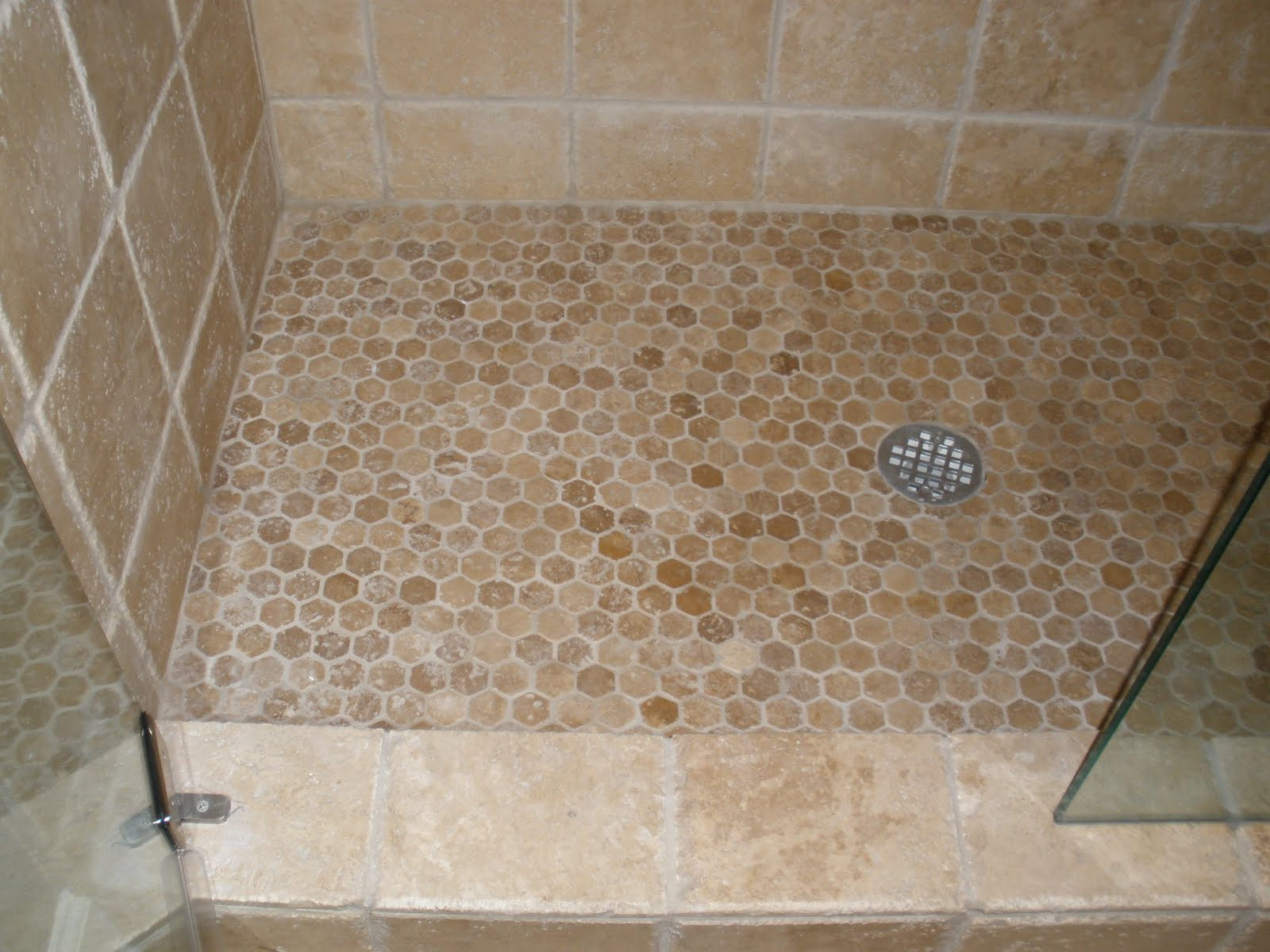 Lmdesigns the often forgotten shower floor for Shower floor tile