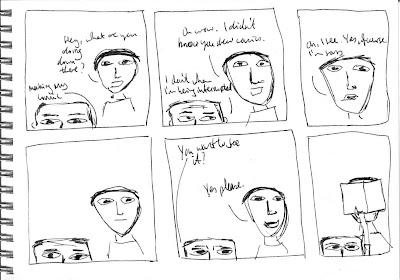 Pretend Comic